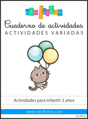 actividades para 3 años pdf