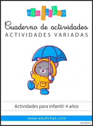 actividades para niños de 4 años