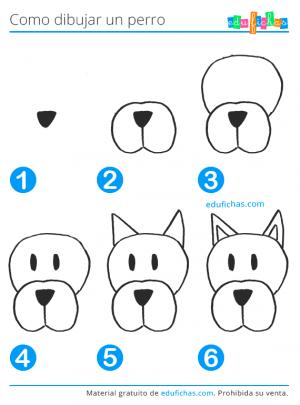 aprender a dibujar un perro