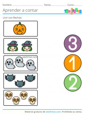 fichas de halloween en pdf