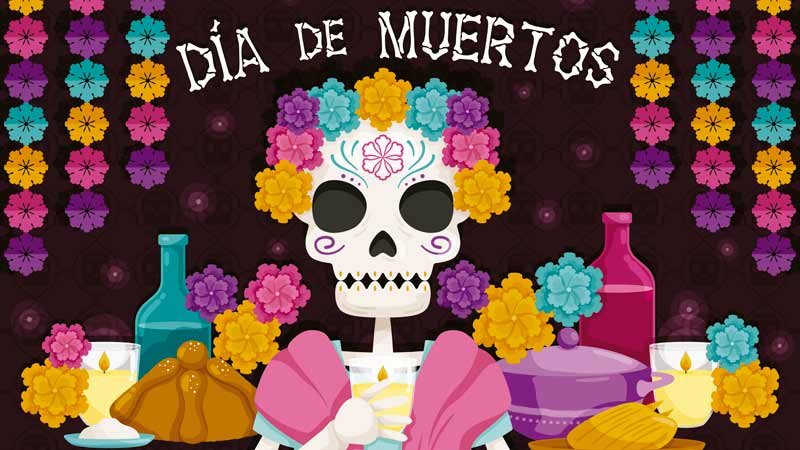 imágenes del día de Muertos
