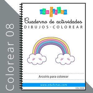 dibujos de arcoiris