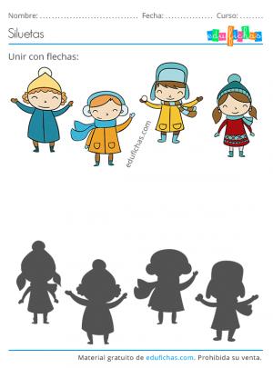 imprimir invierno para niños