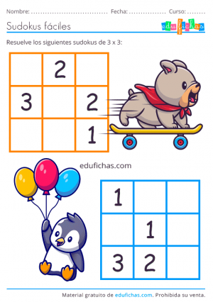 lógica numérica infantil