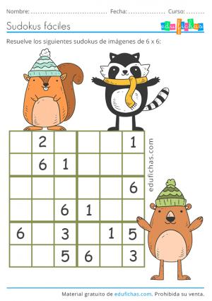 sudoku dificil para niños