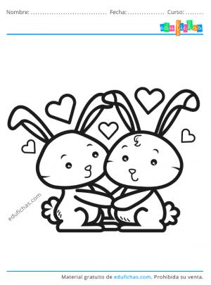 dibujos de conejos kawaii