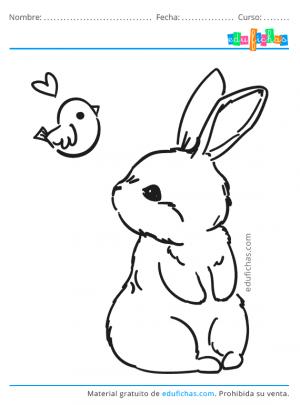 dibujos bonitos de conejos