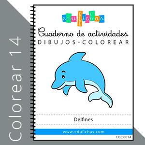 dibujos de delfines