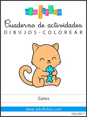 dibujos de gatos en pdf