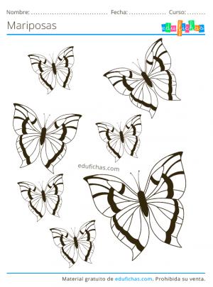 dibujos de mariposas