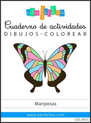 dibujos de mariposas pdf
