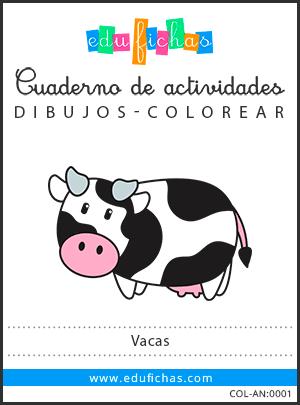 dibujos de vacas en pdf