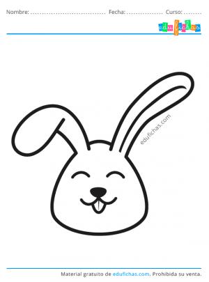 dibujos fáciles de conejos para pintar
