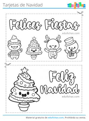 felices fiestas tarjetas