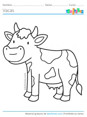 imagenes de vacas para imprimir