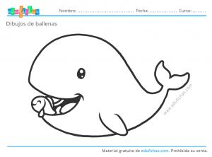 ballenas para niños