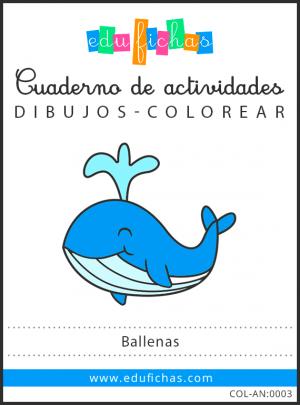 dibujos de ballenas pdf