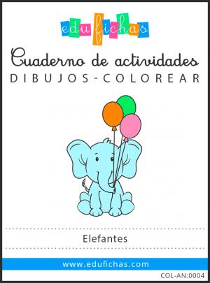 dibujos de elefantes pdf