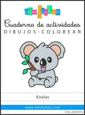 dibujos de koalas pdf