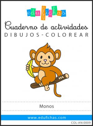dibujos de monos pdf
