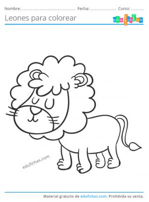imprimir leones