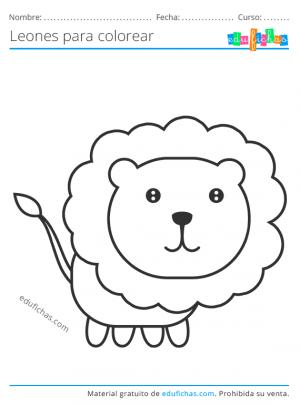 león kawaii
