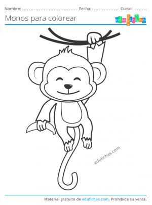 monos imprimir