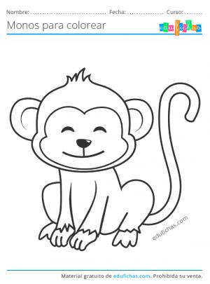 pintar monos