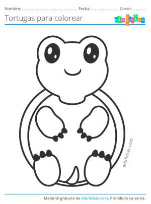 tortuga kawaii