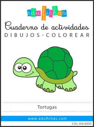 dibujos de tortugas en pdf