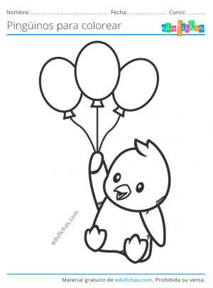 dibujos bonitos de pinguinos para niños
