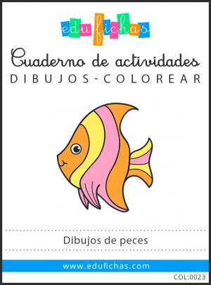 dibujos de peces pdf