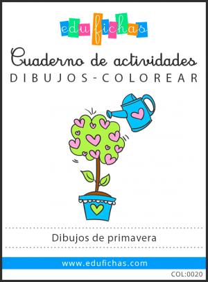 dibujos de primavera pdf