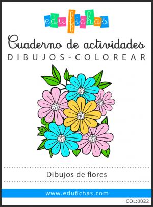 dibujos de flores pdf