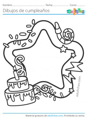 dibujos de invitaciones para cumpleaños