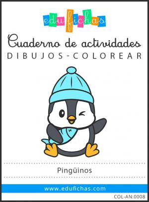 dibujos de pingüinos en pdf gratis
