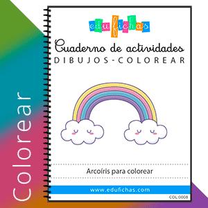 arcoiris para colorear