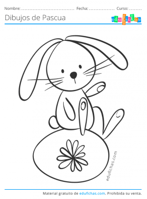 conejos bonitos de pascua