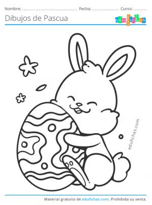 conejos de pascua para imprimir