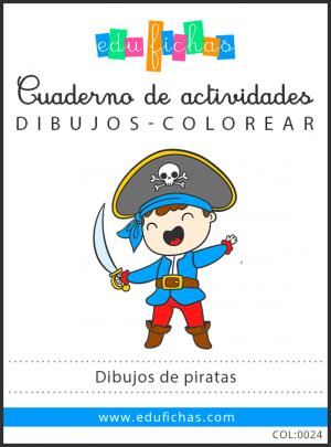 dibujos de piratas pdf