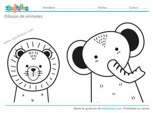 imprimir dibujos de animales