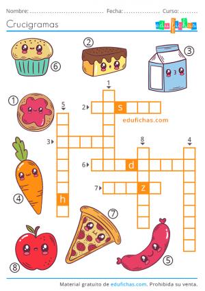 crosswords fáciles