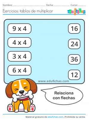 fichas tabla 4