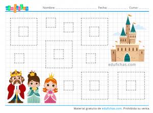 grafomotricidad castillos