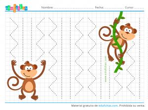 grafomotricidad monos