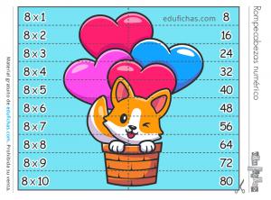 puzzle tabla 8