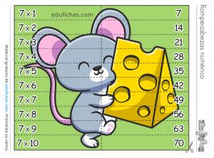 puzzle tabla del 7