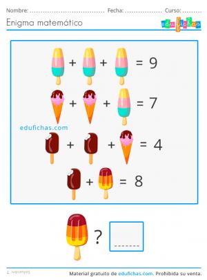 enigma matemático de verano