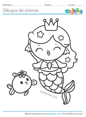 sirenita kawaii