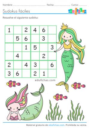 sudoku 6x6 de verano